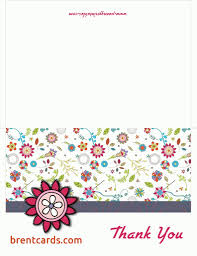 free thank you cards online thank you card template online free