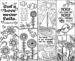 Little ones love to color, so these coloring pages are perfect for enjoying family time while strengthening their belief. Set Of 8 Bible Verse Coloring Bookmarks For Kids Scripture Etsy In 2021 Coloring Bookmarks Bible Verse Coloring Bible Bookmark