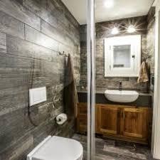 rustic modern bathroom. Black And White Modern Farmhouse Bathroom Rustic