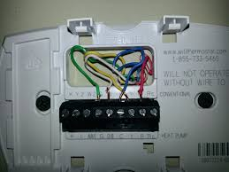 honeywell thermostat wire diagram efcaviation com honeywell rth2300b 2 wire installation at Honeywell Thermostat Rth2300 Wiring Diagram