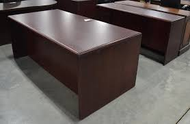 contemporary dark wood office desk. Brown Mahogany Wood U Shaped Mingle Executive Office Desk With Modern Home Furniture Dark Paoli Cherry Credenzas Rectangular All Solid Table Edge Profiles Contemporary K