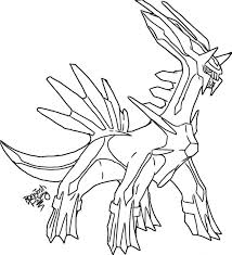 Small Picture Pokemon Coloring Pages Dialga Palkia And Coloringgif Coloring Page