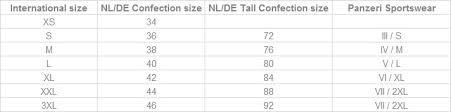 Sizing Charts Tall Womens Clothing Highleytall