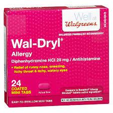 Walgreens Wal-Dryl Allergy Relief Coated Mini Tabs | Walgreens