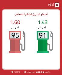 أرامكو تعلن أسعار البنزين الجديدة في السعودية الخميس 10/2/2021 سعر البنزين  91 95 اليوم الجديد - جريدة لحظات نيوز
