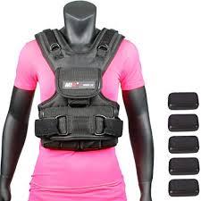 mir womens adjule weighted vest 10lbs 50lbs 10