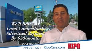 kipo chevrolet payment promise