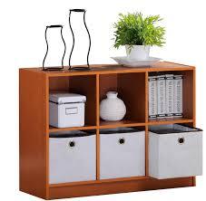 Amazon.com: Furinno 99940LC/IV Basic 3x2 Bookcase Storage w/Bins, Light  Cherry/Ivory: Kitchen & Dining