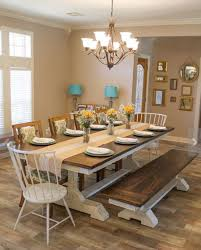 dining tables farmhouse style dining table farmhouse table and chairs for dark brown rectangle