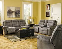 Whole Living Room Sets Rotation Smoke Reclining Living Room Set From Ashley 97501 88 94