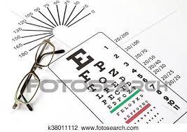 Medical Eye Chart Stock Image K38011112 Fotosearch