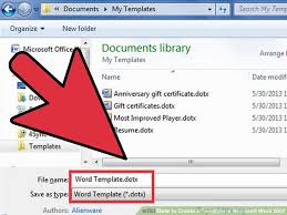 ms word 2007 template how to create a template in microsoft word 2007 7 steps
