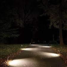 exterior led path lighting. led walkway lights mr beams ultra bright outdoor path set of 6 dark brown exterior lighting t