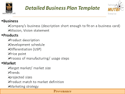 Marketing New Product Business Plan Template Free Startup Guideline ...