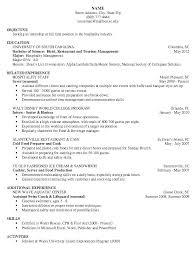Waiter Resume Samples Server Resume Examples Server Resume Pattern ...
