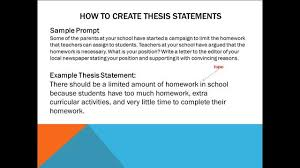 p good thesis statement FAMU Online