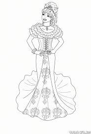 Disegno Da Colorare Barbie