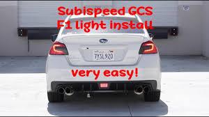 Wrx F1 Fog Light Subaru Wrx F1 Light Install