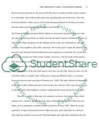 the friedman family model essay example topics and well written  the friedman family model essay example