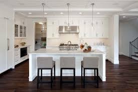 White Kitchen Dark Floors Kitchen Models Artbynessa