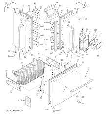 Ge bottom mount refrigerator parts model pfss5pjxbss sears rh searspartsdirect