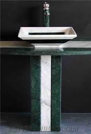 Marble pedestal sink Wash Basin Green Marble Pedestal Sink Pinterest Green Marble Pedestal Sink From China Stonecontactcom