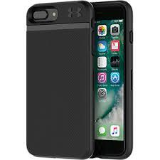 under armour 7 plus case. under armour ua protect stash case for iphone 8 plus/7 plus - black/black 7 verizon wireless