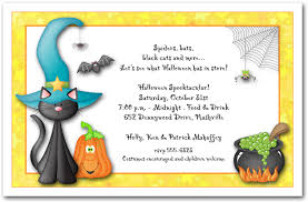 Kids Halloween Invitations, Kid's Halloween Birthday Invitations