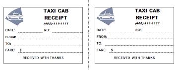 London Taxi Receipt Pdf Cab Receipt Template Under Fontanacountryinn Com