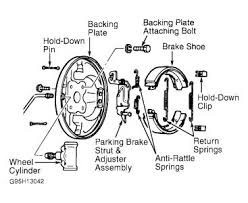 ford contour rear brake diagram ford ford contour lx rear brake automatic adjuster automotive repairs