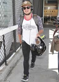 Josh Hutcherson Shows His Wild Side On His Chopper After