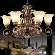 vintage 6 light glass shade chandelier lighting pertaining to amazing home chandelier glass shades prepare