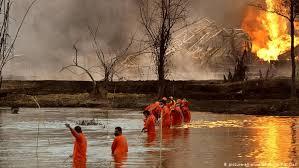 major fire at india s baghjan oil