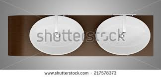 bathroom sink top view. Top View Of Modern Bathroom Sink Isolated On Gray Background K