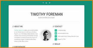 Bootstrap Resume Template 9 Bootstrap Resume Template Top Resume Templates