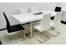 enzo white lacquer modern rectangular dining table within white lacquer dining table e42 white