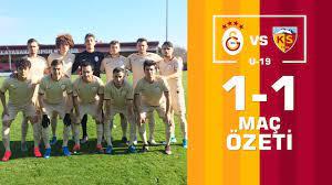 2019-2020 U19 Ligi:Galatasaray U19 1-1 Kayserispor U19