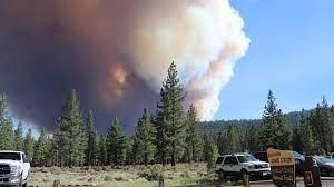 Tamarack Fire prompts evacuations