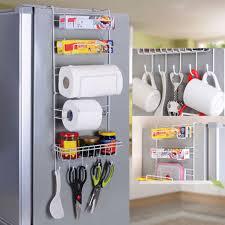 over door kitchen storage basket e rack 6 tiers pantry closet fridge holder