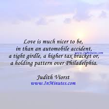 Quotes - Love is much nicer to be in than an automobile accident ... via Relatably.com