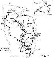 Army Corps Of Engineers Lower Mississippi River Navigation Charts Introduction Inland Navigation System Planning The Upper