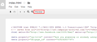 How To Serve HTML and JavaScript enabled Web Pages via Google Drive ...