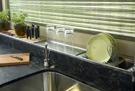 countertop dish rack genius kitchen designs want to re create in your home countertop dish towel