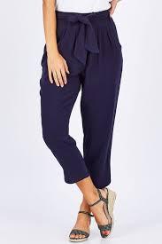 Fate Becker Summer Lovin Tie Waist Pant Womens Pants