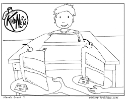 Adult Sharing Coloring Pages Children Sharing Coloring Pages