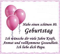 80 Geburtstagswünsche Sprüche Für Opa Oma Papa Mama