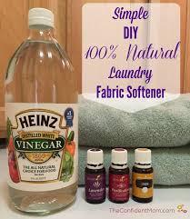 simple diy 100 natural laundry fabric softener