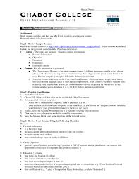 Cool Resume Template College Student Horsh Beirut