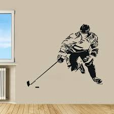 hockey wall decal sport wall decals good ideas sport wall decals  inspiration image of best sport