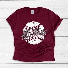 Vinyl Baseball Shirt Designs All Stars Baseball T Shirt